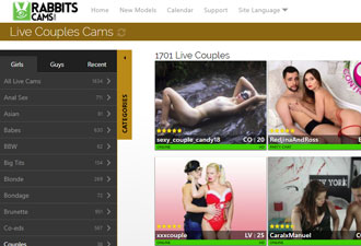 My Top 4 Couples on Cam