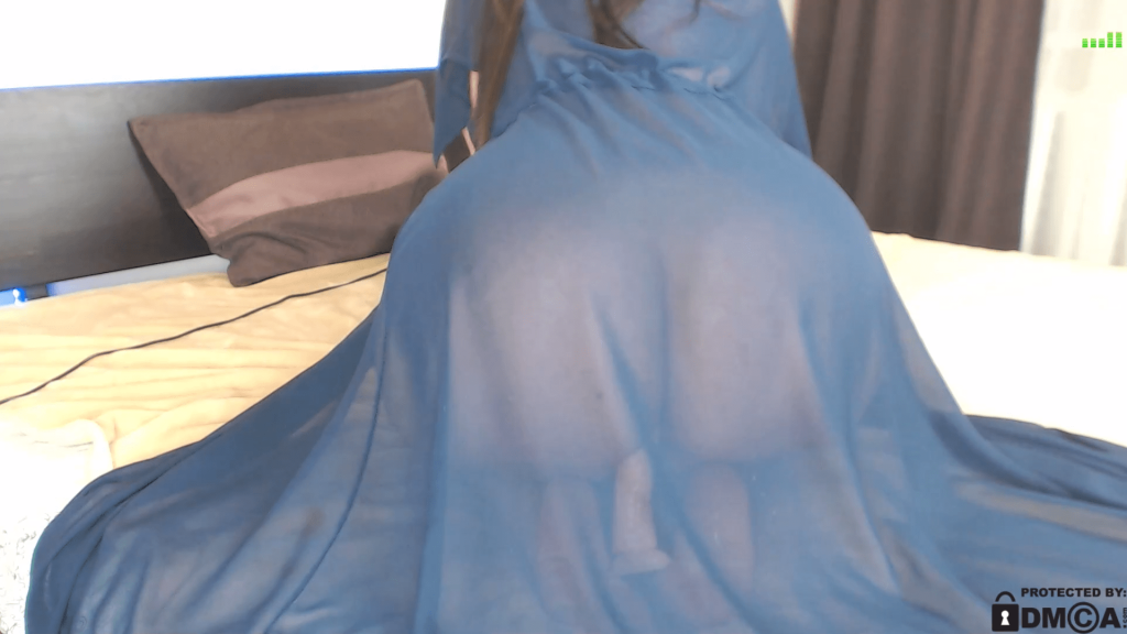 ass see through dress