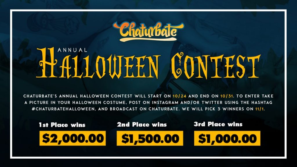 chaturbate halloween contest